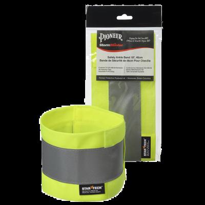 "Pioneer Adjustable Reflective Ankle Band -18x4 V1040260-143"""