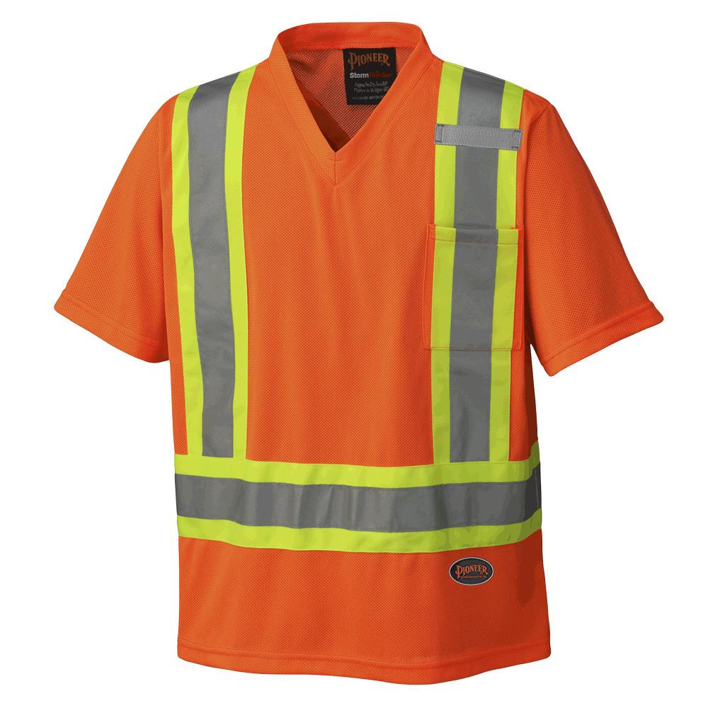 Pioneer Hi-Viz Traffic Micro Mesh T-Shirt V1050650 - 6979