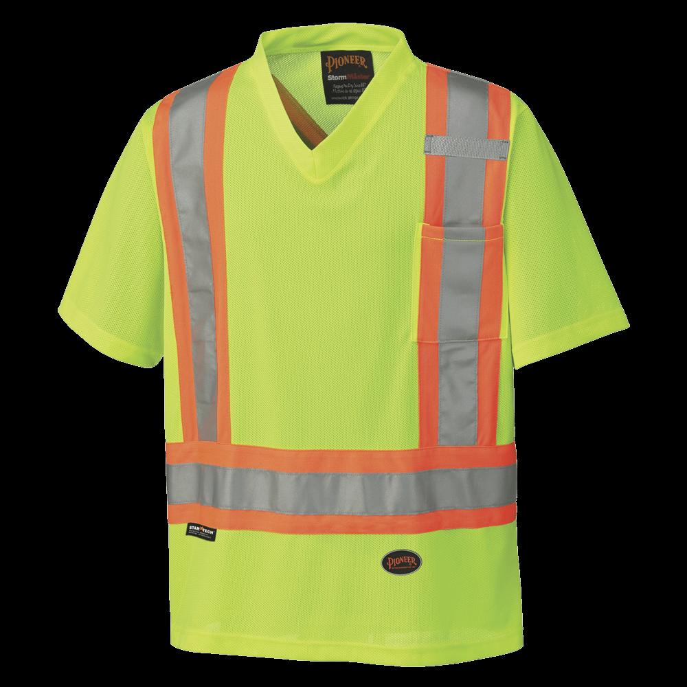 Pioneer Hi-Viz Traffic Micro Mesh T-Shirt V1050660 - 6989