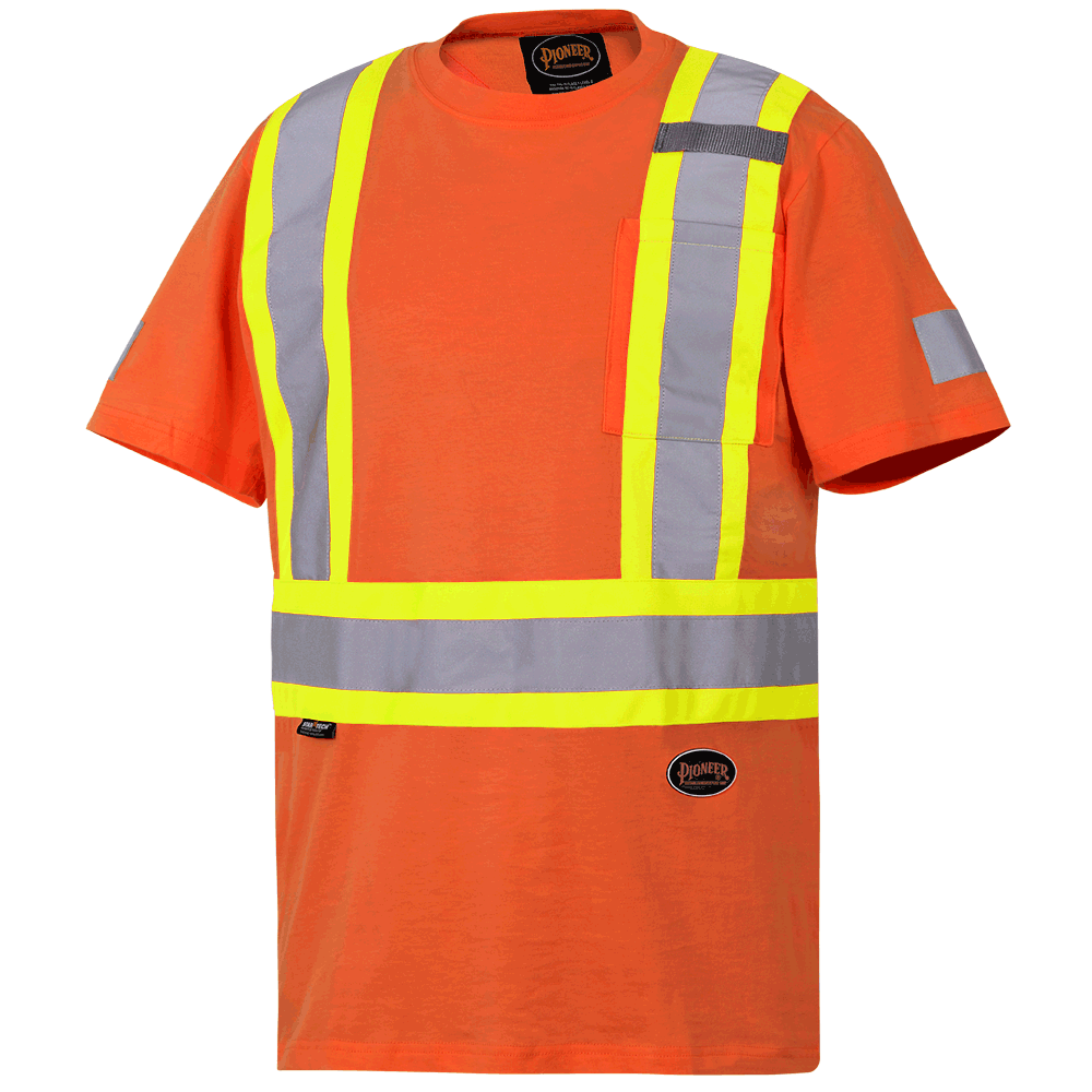 Pioneer Cotton Safety T-Shirt V1050550 - 6978