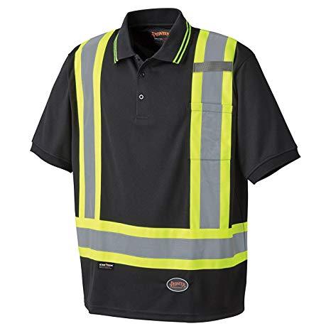 Pioneer Birdseye Safety Polo Shirt V1051370 - 6988