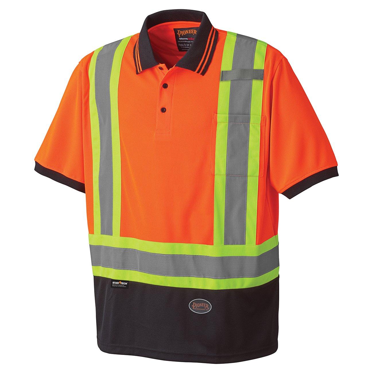 Pioneer Birdseye Safety Polo Shirt V1051350 - 6986