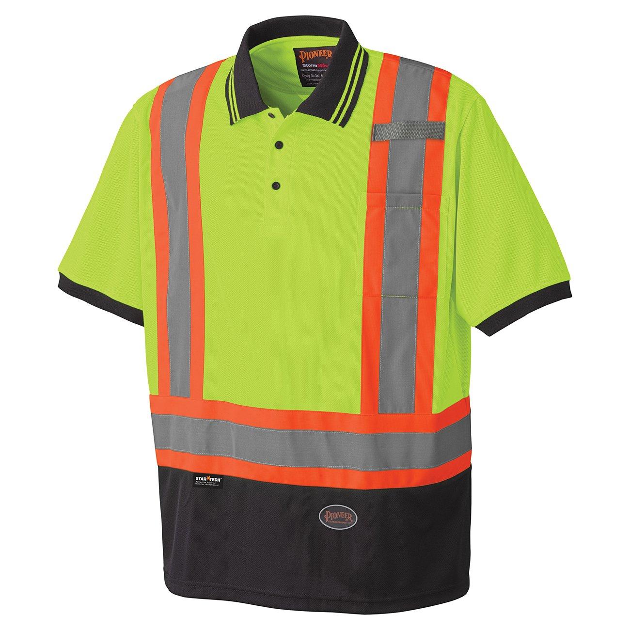 Pioneer Birdseye Safety Polo Shirt V1051360 - 6987