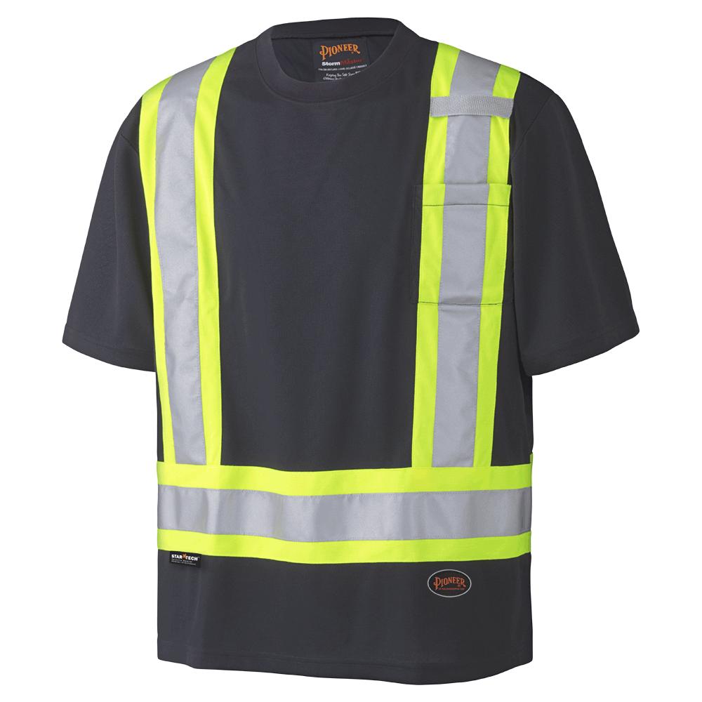 Pioneer Birdseye Safety T-Shirt V1051170 - 6992