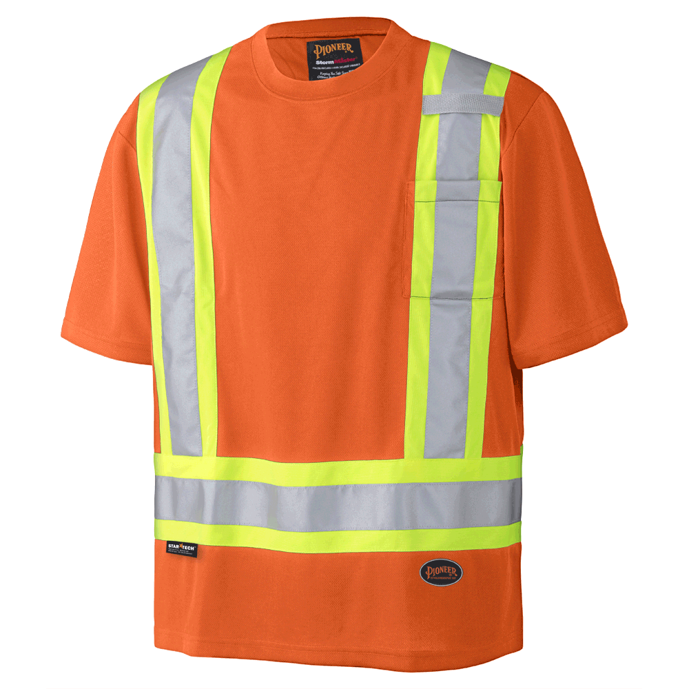 Pioneer Birdseye Safety T-Shirt V1051150 - 6990