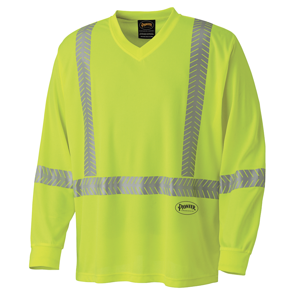 Pioneer Ultra-Cool Ultra-Breathable Long-Sleeve Safety Shirt