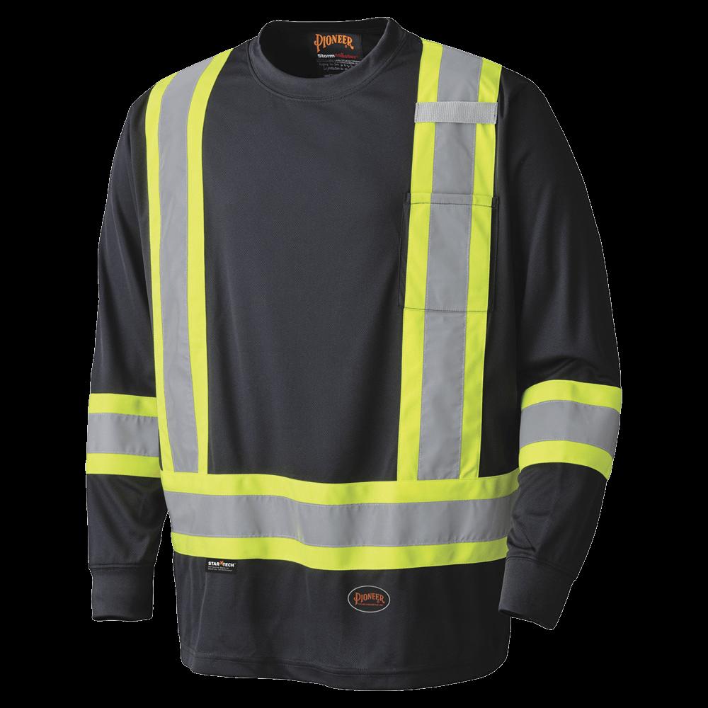 Pioneer Birdseye Long-Sleeved Safety Shirt V1051270 - 6997