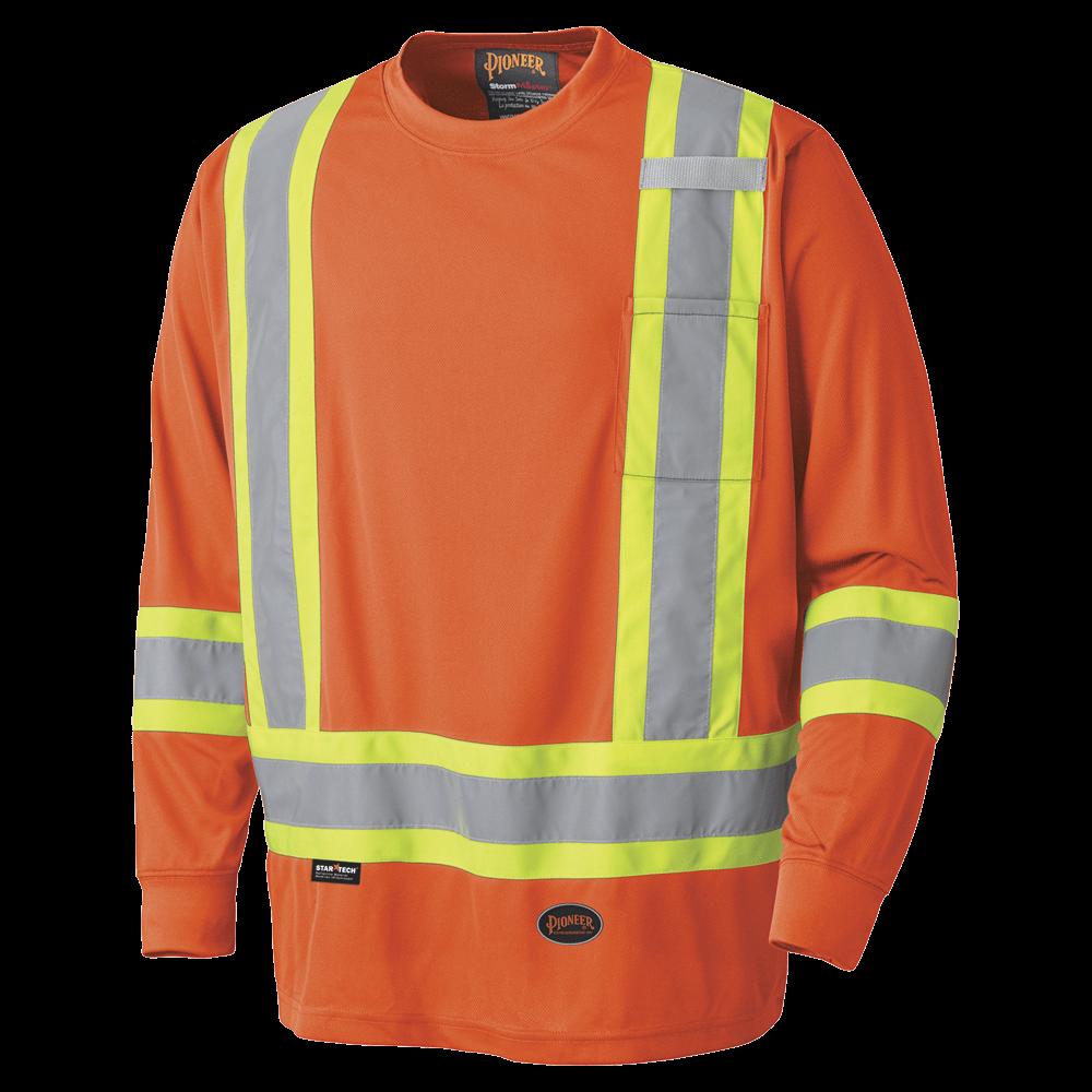 Pioneer Birdseye Long-Sleeved Safety Shirt V1051250 - 6995