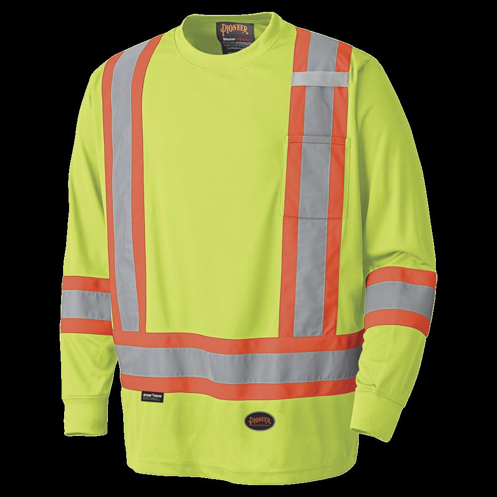 Pioneer Birdseye Long-Sleeved Safety Shirt V1051260 - 6996