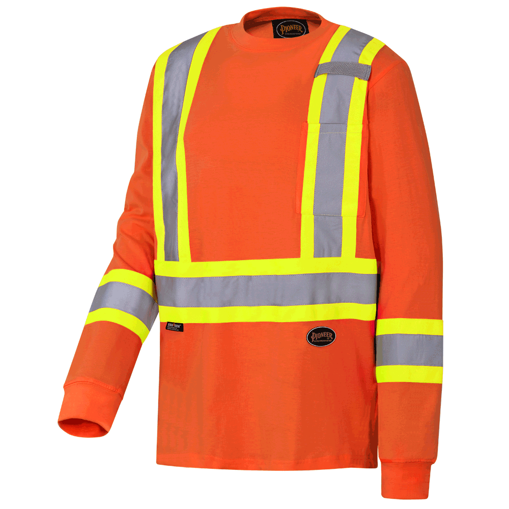 Pioneer Cotton Long-Sleeved Safety Shirt V1050850 - 6981