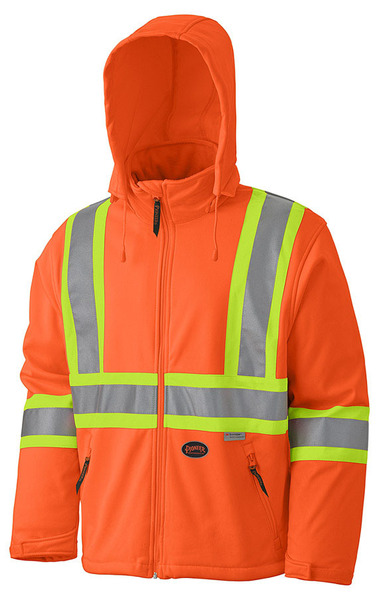 Pioneer Hi-Viz Soft Shell Safety Jacket V1100150 - 5579
