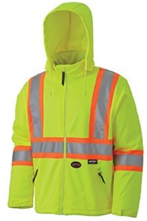 Pioneer Hi-Viz Soft Shell Safety Jacket V1100160 - 5589