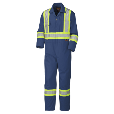 Pioneer Safety Polyester Cotton Coverall V2020580 - 5516