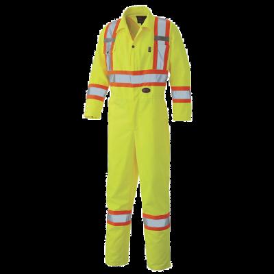 Pioneer Hi-Viz Safety Polyester Cotton Coverall V1160160