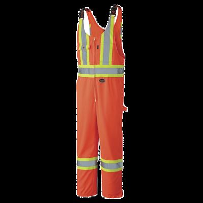 Pioneer Hi-Viz Safety Polyester Cotton Overall V1160250