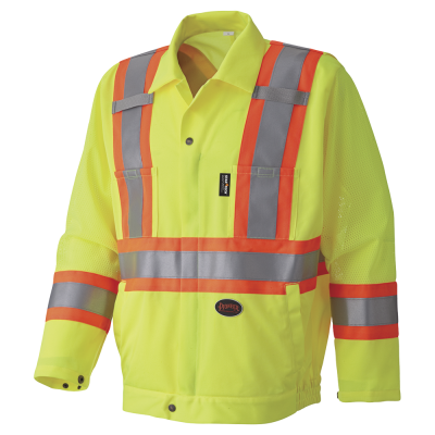 Pioneer Hi-Viz Traffic Safety Jacket V1070260 - 5999J