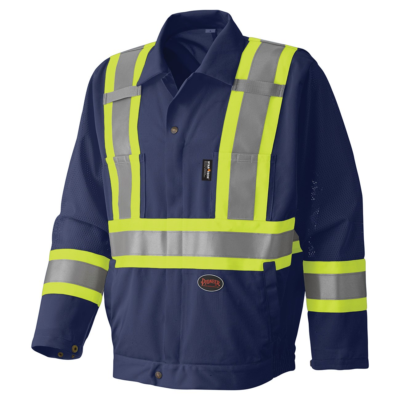 Pioneer Hi-Viz Traffic Safety Jacket V1070280 - 6003J