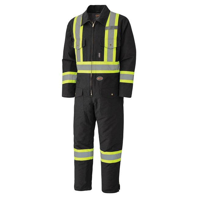 Pioneer Quilted Cotton Duck Coverall V206097A - 5539BKA