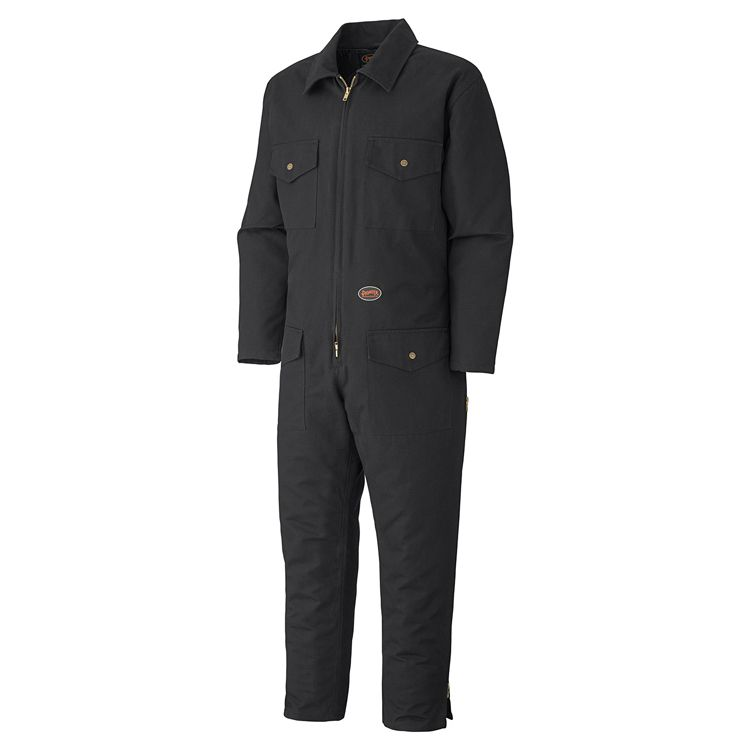 Pioneer Quilted Cotton Duck Coverall V206017A - 520A