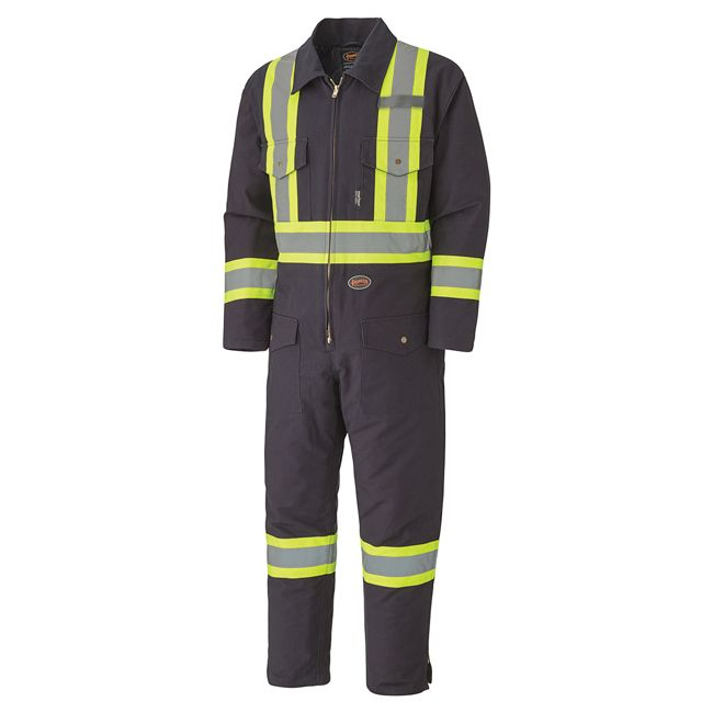 Pioneer Quilted Cotton Duck Coverall V206098A - 5539A