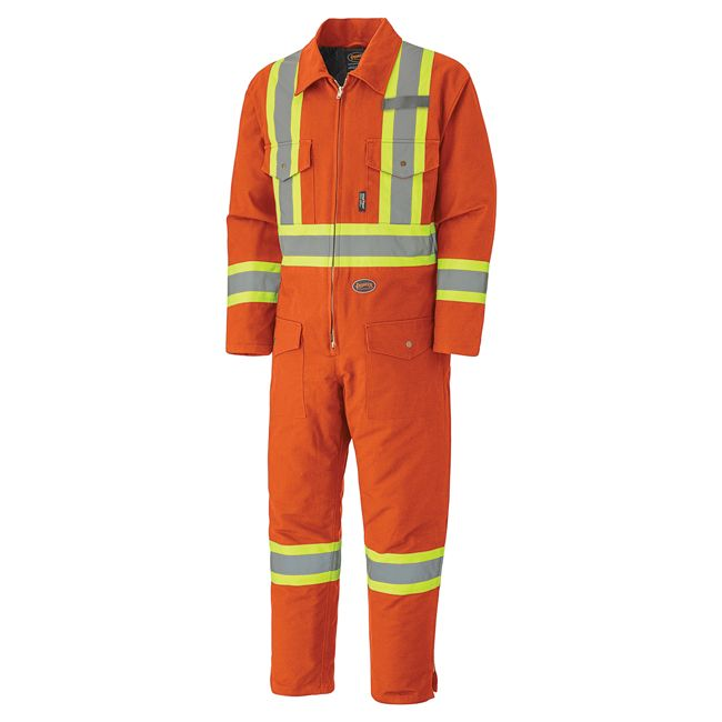 Pioneer Quilted Cotton Duck Coverall V206095A - 5540A
