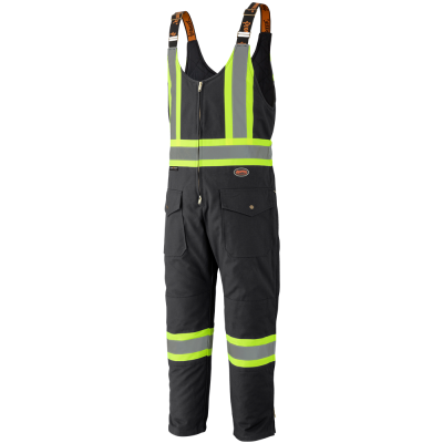 Pioneer Quilted Cotton Duck Safety Overall V2060570 - 5536BK