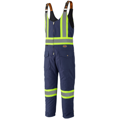 Pioneer Quilted Cotton Duck Safety Overall V2060580 - 5536