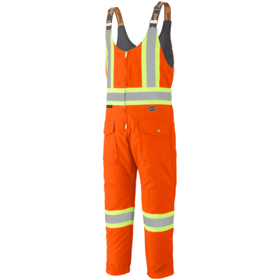 Pioneer Quilted Cotton Duck Safety Overall V2060550 - 5538