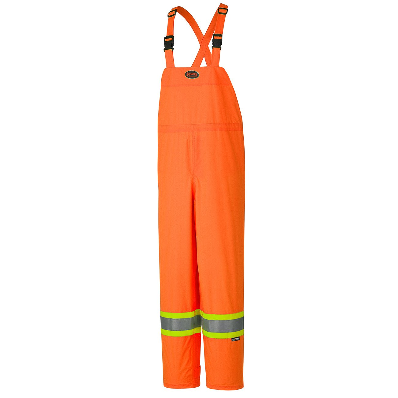 Pioneer Hi-Viz 150D Lightweight Waterproof Safety Bib Pant