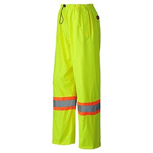 Pioneer Hi-Viz 150D Lightweight Waterproof Safety Pant