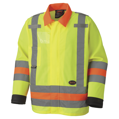 Pioneer Hi-Viz Breathable Traffic Control Safety Jacket