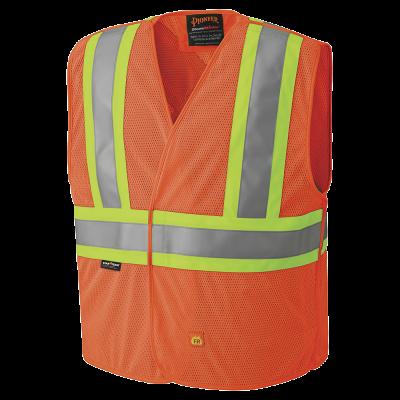 Pioneer Hi-Viz Flame Resistant Vest V2510850 - 6914A