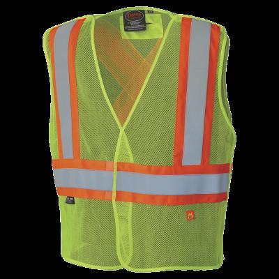 Pioneer Hi-Viz Flame Resistant Modacrylic Mesh Vest V2510760