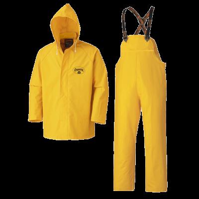 Pioneer Flame Resistant PVC Heavy-Duty 3-Piece Rain Suit