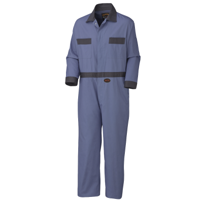 Pioneer Cotton Coverall With Buttons (Tall) V201011T - 5133T