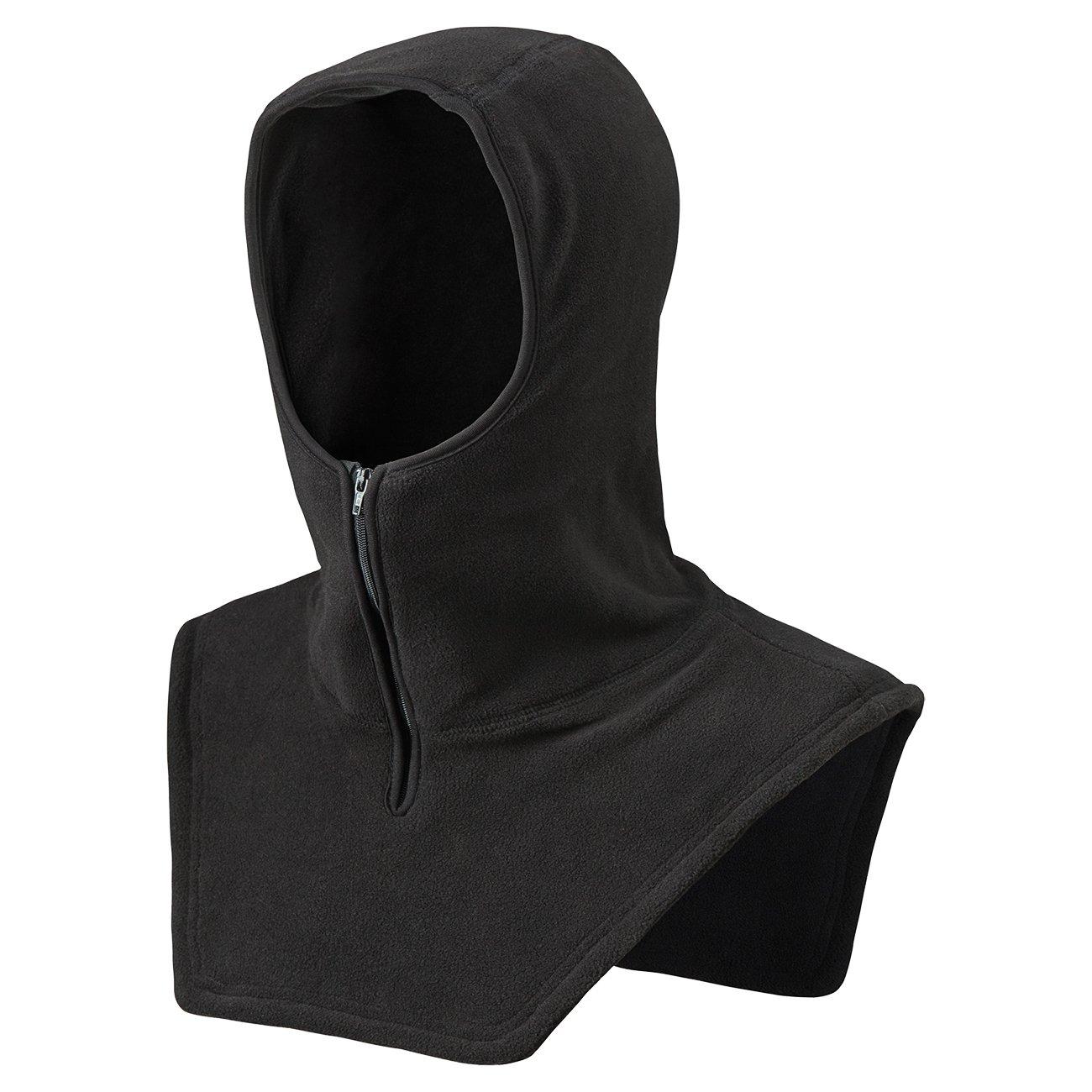 Pioneer Micro Fleece Hood With Zipper Front