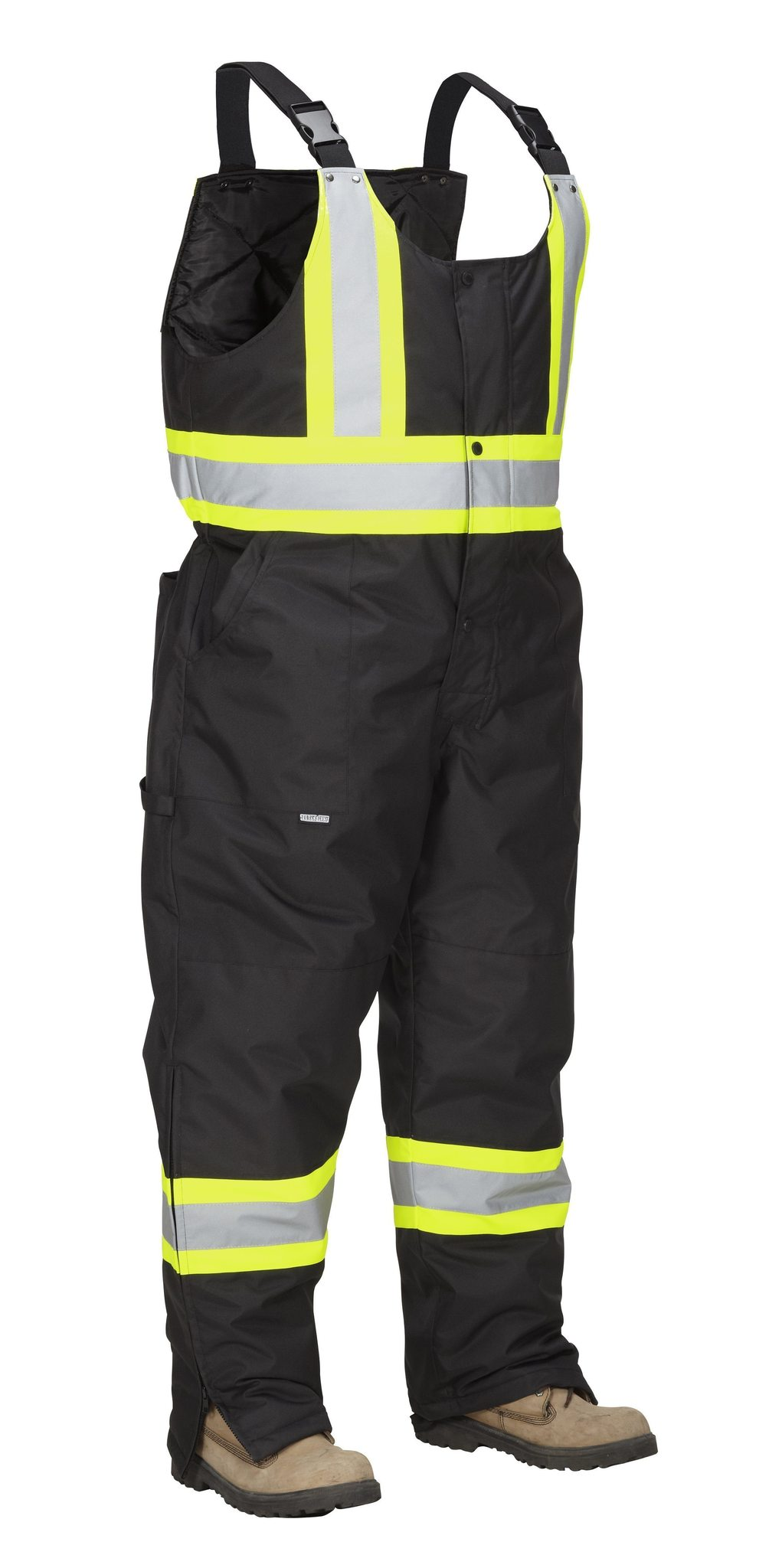 Forcefield Hi-Vis Safety Overall 024-EN835RBK