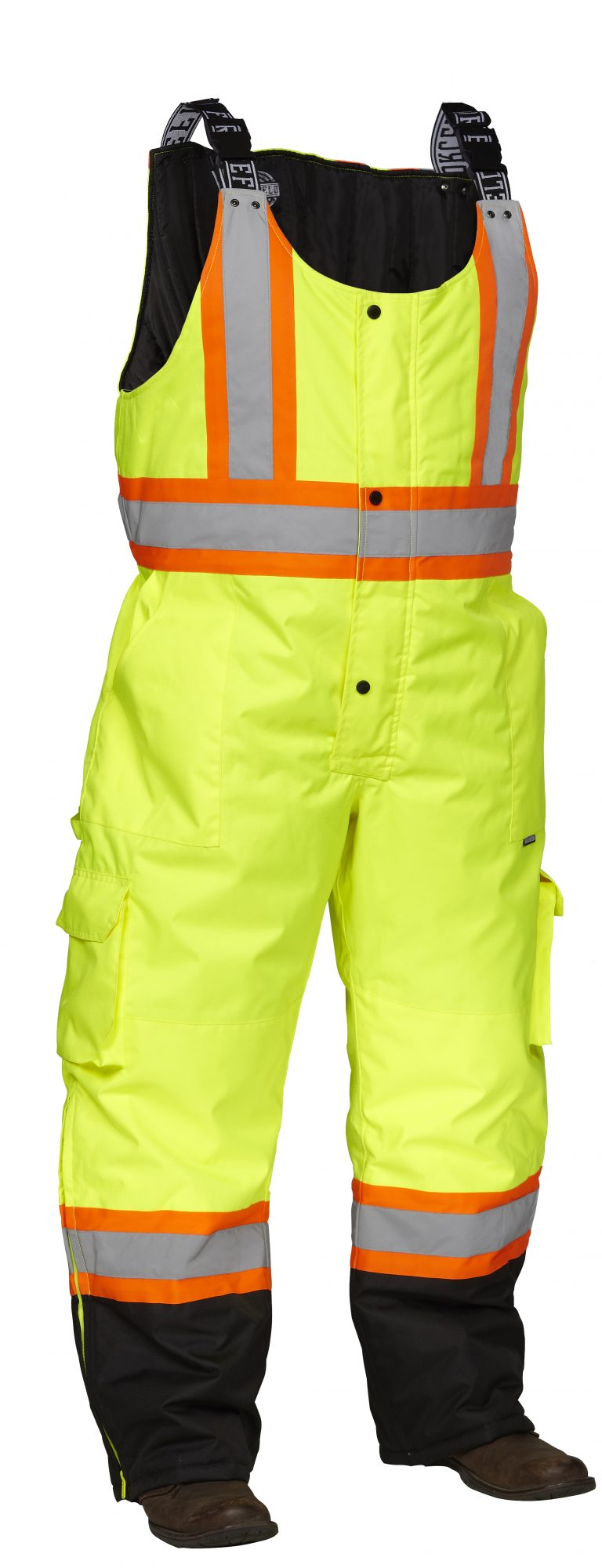Forcefield Hi-Vis Safety Overall 024-EN835RLY