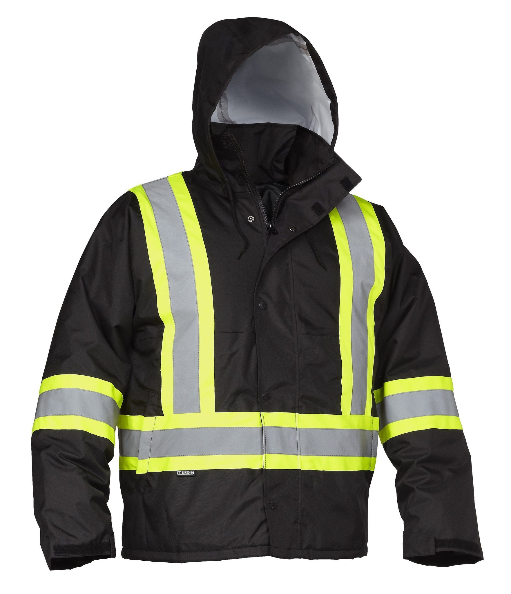 Forcefield Hi-Vis Safety Drivers Jacket 024-EN610BK