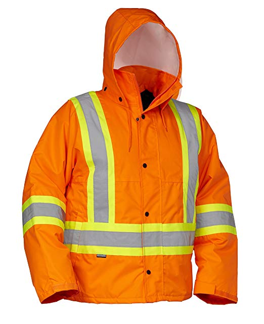 Forcefield Hi-Vis Safety Drivers Jacket 024-EN610OR