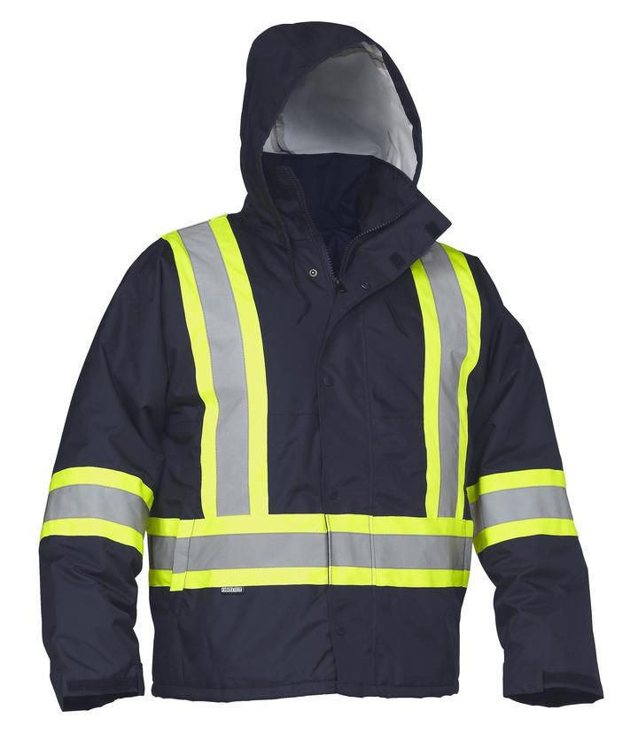 Forcefield Hi-Vis Safety Drivers Jacket 024-EN10NV