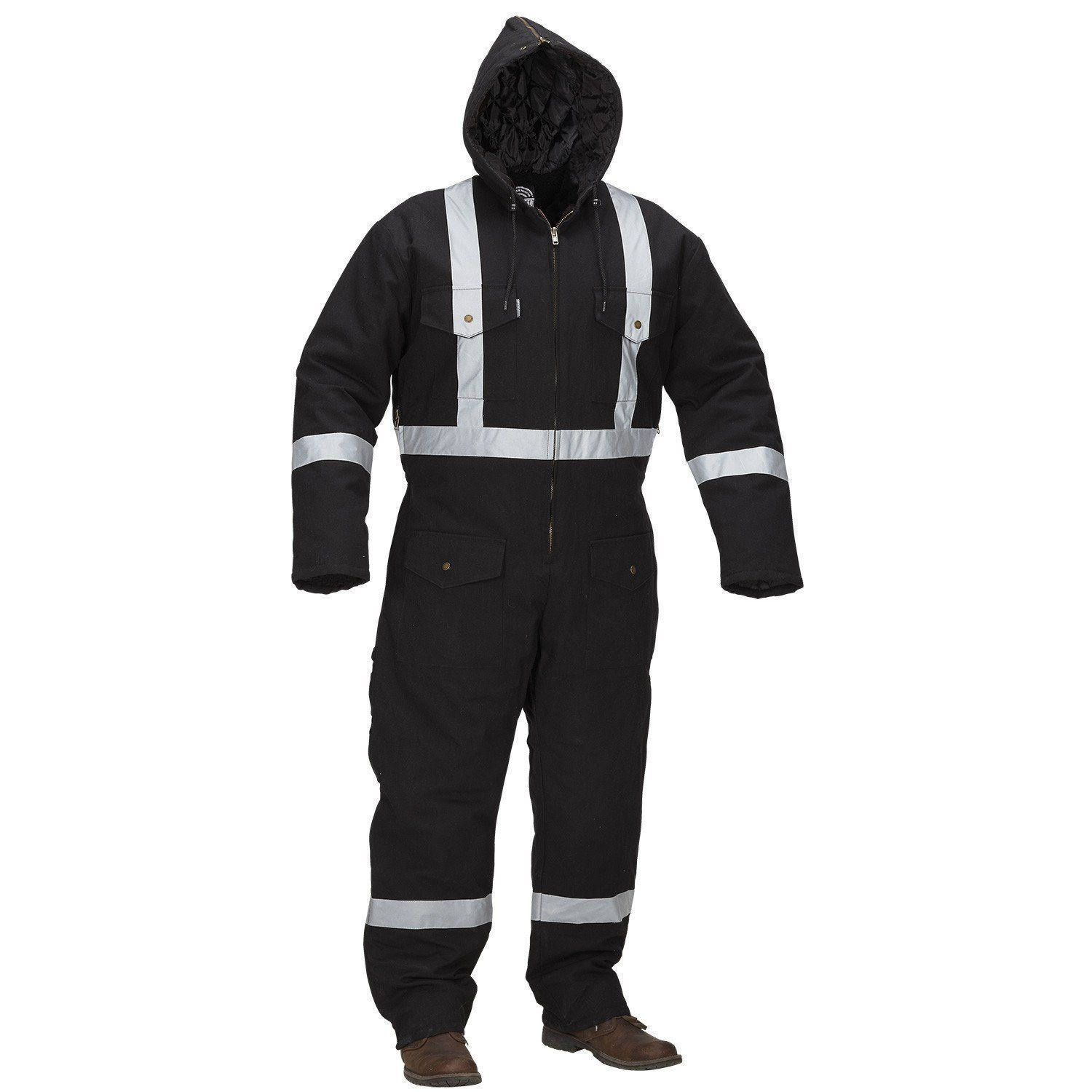 Forcefield Hi-Vis Lined Coverall 024-GA34S