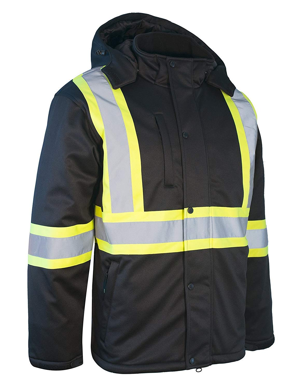 Forcefield Hi-Vis Re-Engineered Safety Softshell 023-EN149BK