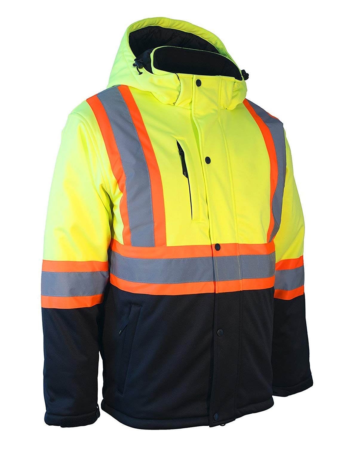 Forcefield Hi-Vis Re-Engineered Safety Softshell 023-EN149LY