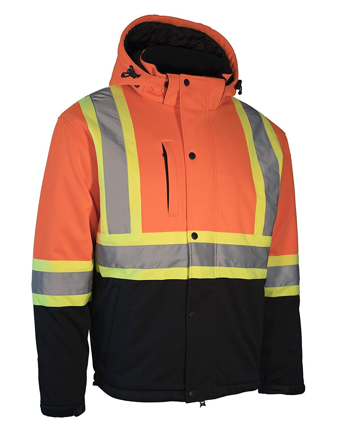 Forcefield Hi-Vis Re-Engineered Safety Softshell 023-EN149OR
