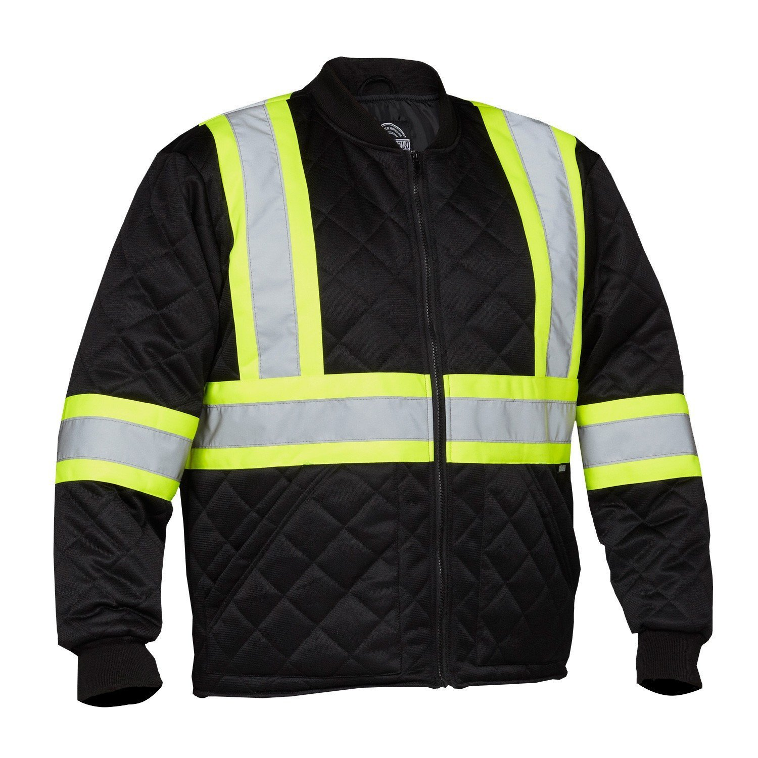 Forcefield Hi-Vis Safety Freezer Jacket 024-FJQBK