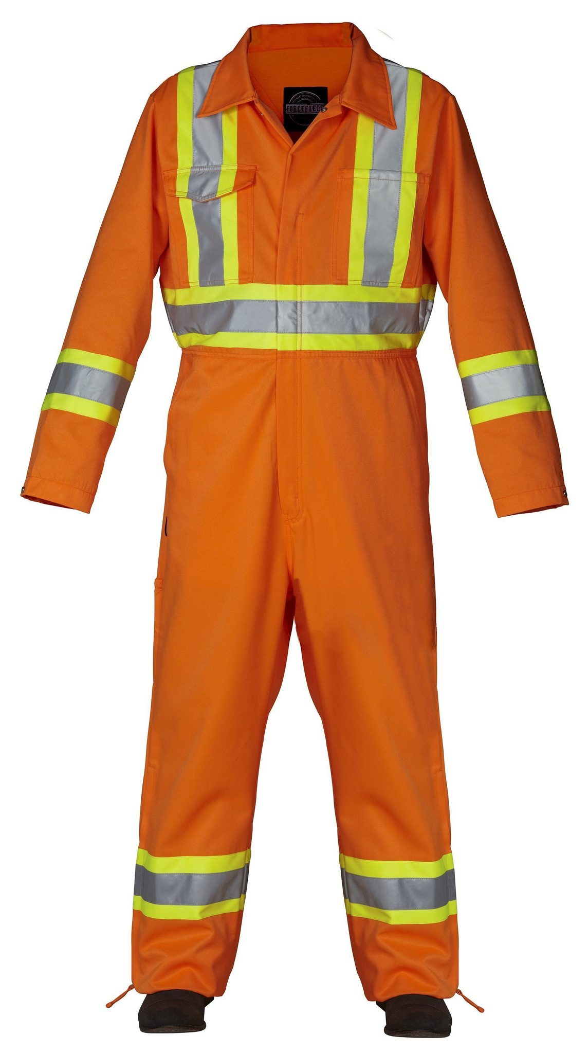 Forcefield Hi-Vis poly cotton Coverall 024-OR145-ORANGE