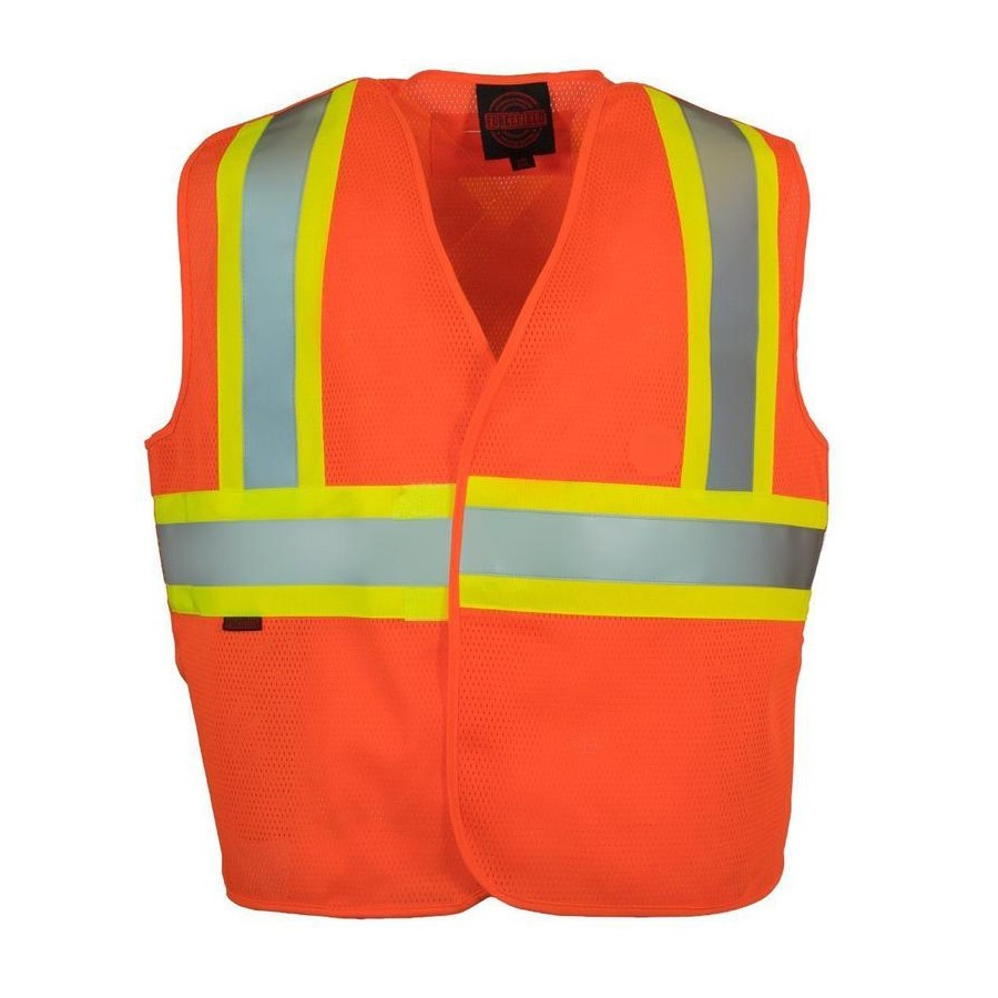 Forcefield Hi-Vis Econo, Mesh, Sized, 5-Point Tear-Away