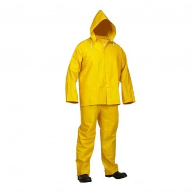Forcefield Hi-Vis FR 3-Piece PVC Rain Suit (.35mm)