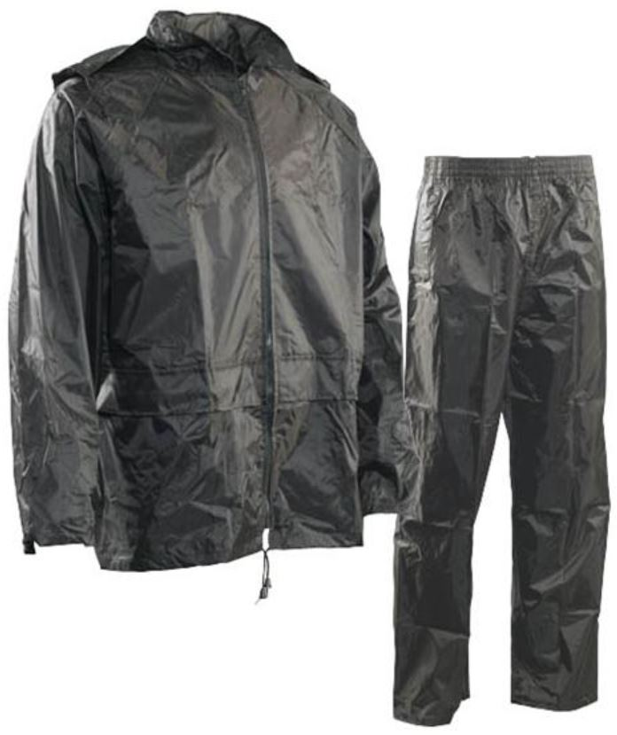 Forcefield Hi-Vis 3-Piece PVC Rain Suit (.35mm) 023-5000BK